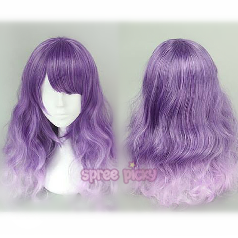 Purple Lolita Long Curly Hair Wig Sp166372 Spreepicky Online