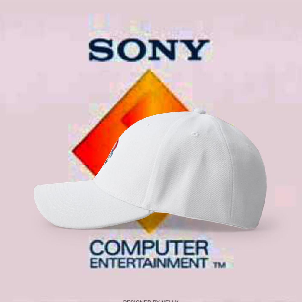 7a8e18f1f5f PLAYSTATION SPOOF PRETTY BOY BASEBALL CAP IN WHITE · soldrelax ...