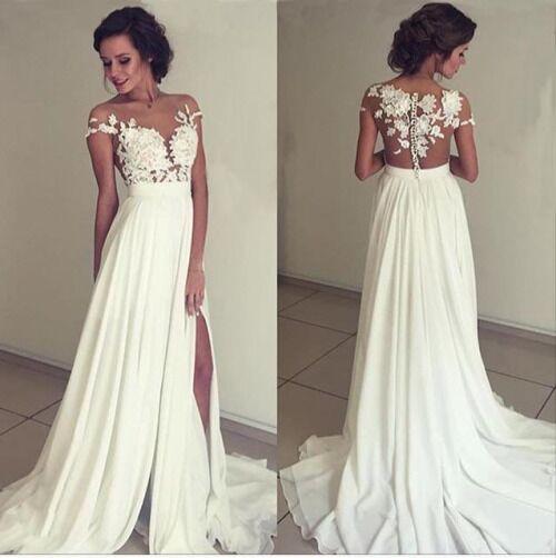 120121953 WD09 Lace Simple Charming Wedding Dresses,A-Line Long Wedding Dress ...