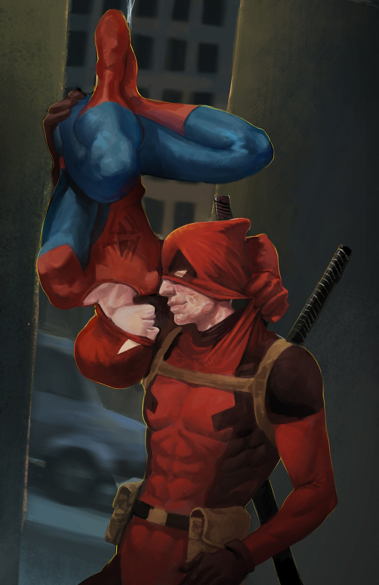 Spideypool Art Prints On Storenvy