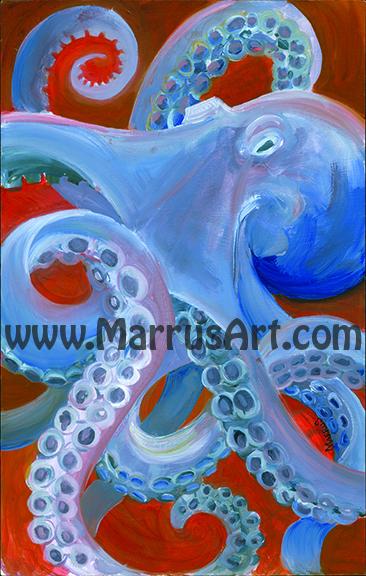 Quot Octopus Quot 11x14 Print On Storenvy