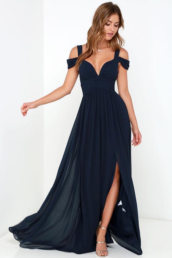 Off Shoulder Chiffon Prom Dress Graduation Party Dress on Storenvy