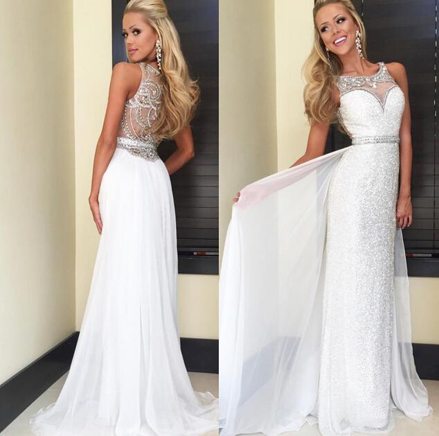 00e4d4f443 Shining Sequin Long Prom Dresses