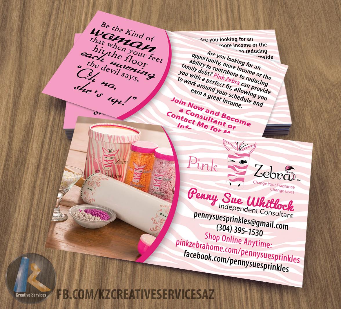Pink zebra business cards style 5 kz creative services online pink zebra business cards style 5 colourmoves