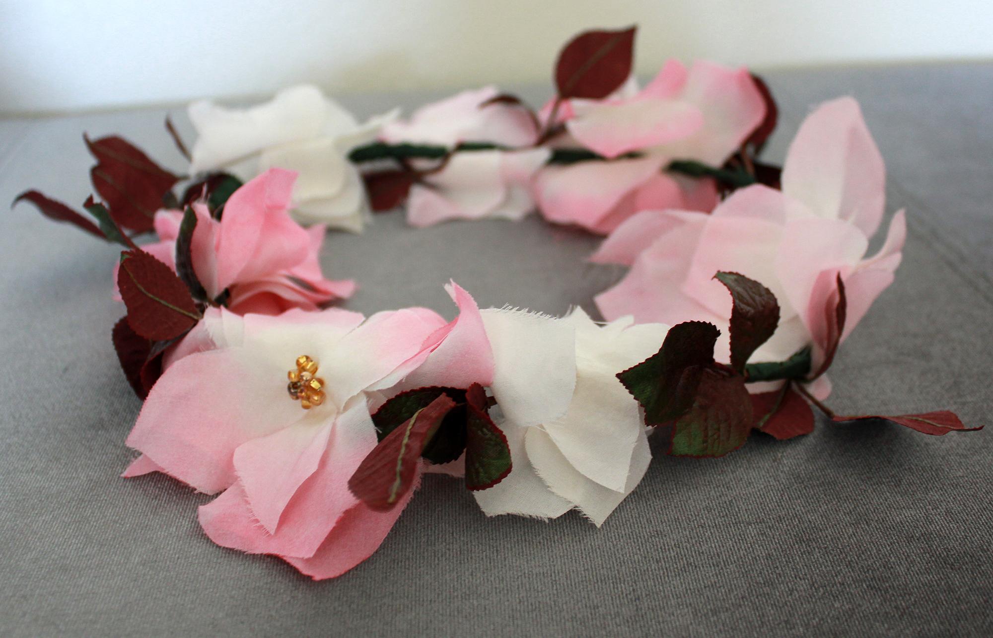 Wild Rose Floral Crown On Storenvy