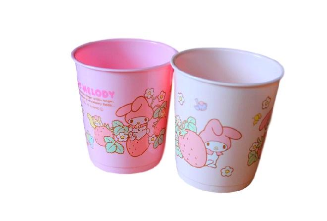 My Melody Cups (Set of 2)- Sanrio Kitchen Goods · Kawaii ...