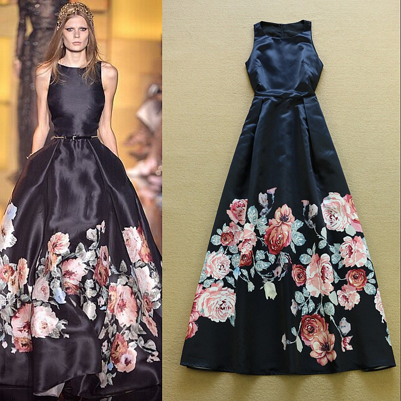 d2427790be3fd Floral Noble Luxury Dress on Storenvy