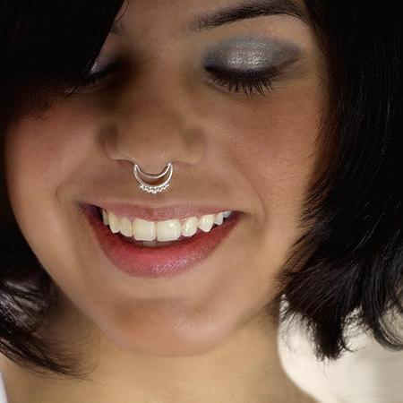 Silver Septum Ring Septum Jewelry Septum Piercing