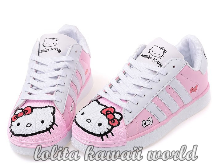 Lolita Kawaii Hello Kitty Shoes Sport Shoes LK16071126 - Thumbnail 1 ...