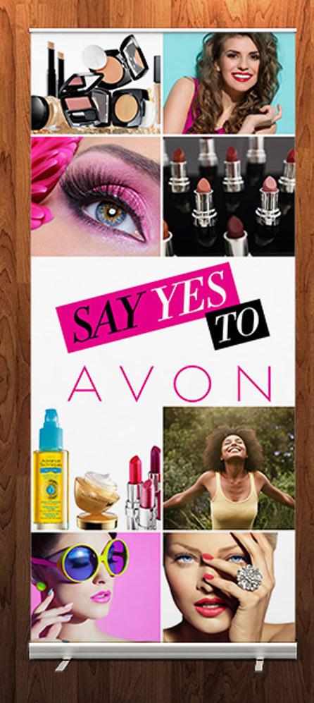 Avon Retractable Banner 1 183 Kz Creative Services