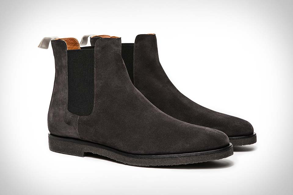ac189d06917f Handmade men Black color suede boot
