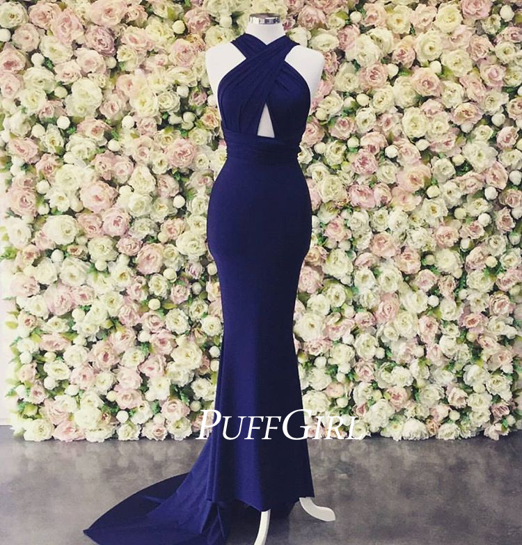 Thick Strap Formal Dress