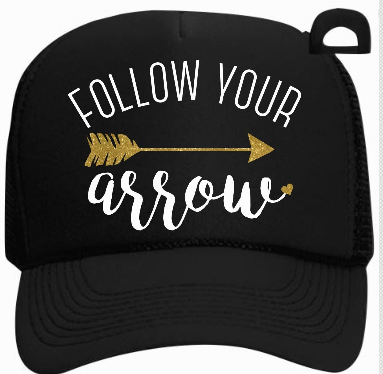 837941a5673 Follow Your Arrow Trucker Hat on Storenvy