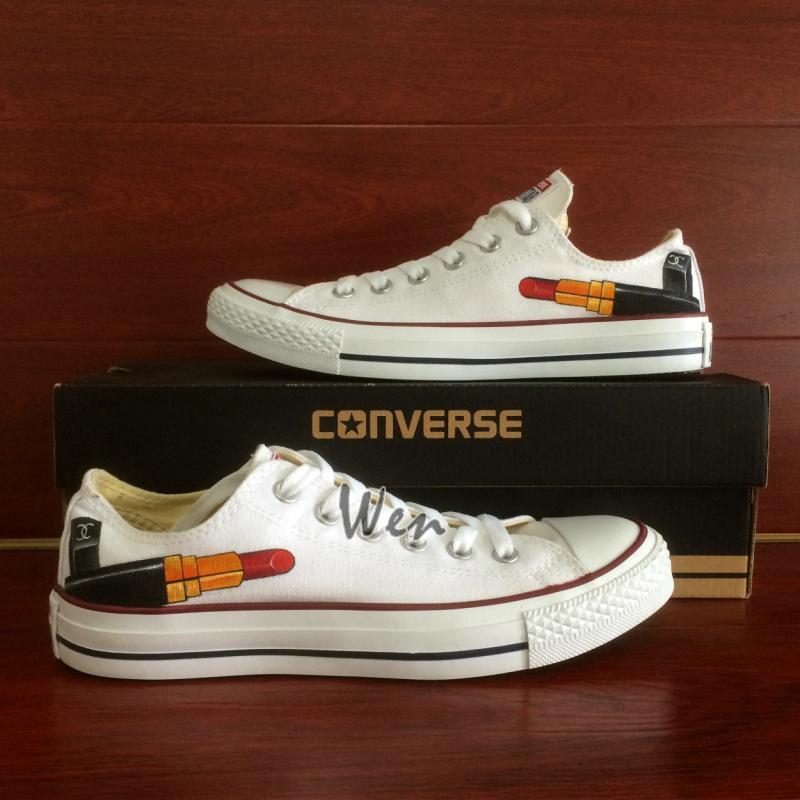 4f893ec59ef2 Lipstick Original Design Hand Painted Shoes Converse Chuck Taylor ...