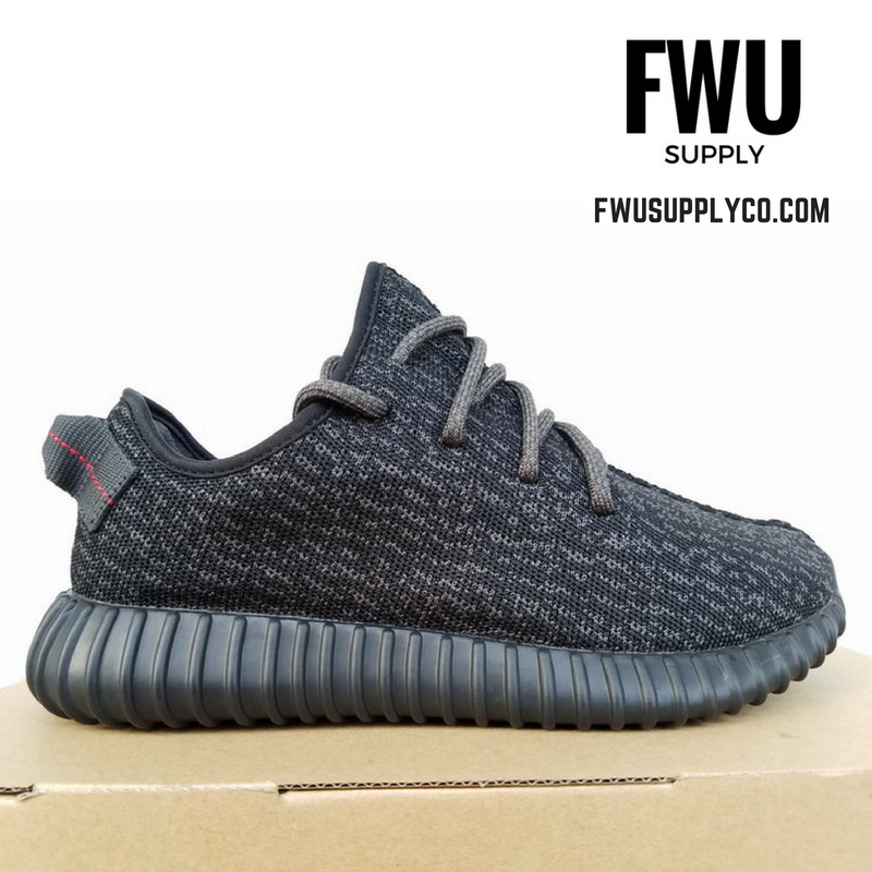 hot sale online 6d612 e774e Authentic UA Yeezy Boost 350- Pirate Black