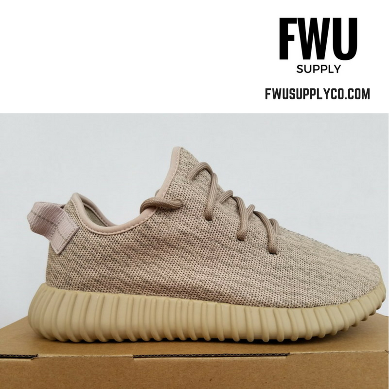 Authentic UA Yeezy Boost 350-Oxford Tan
