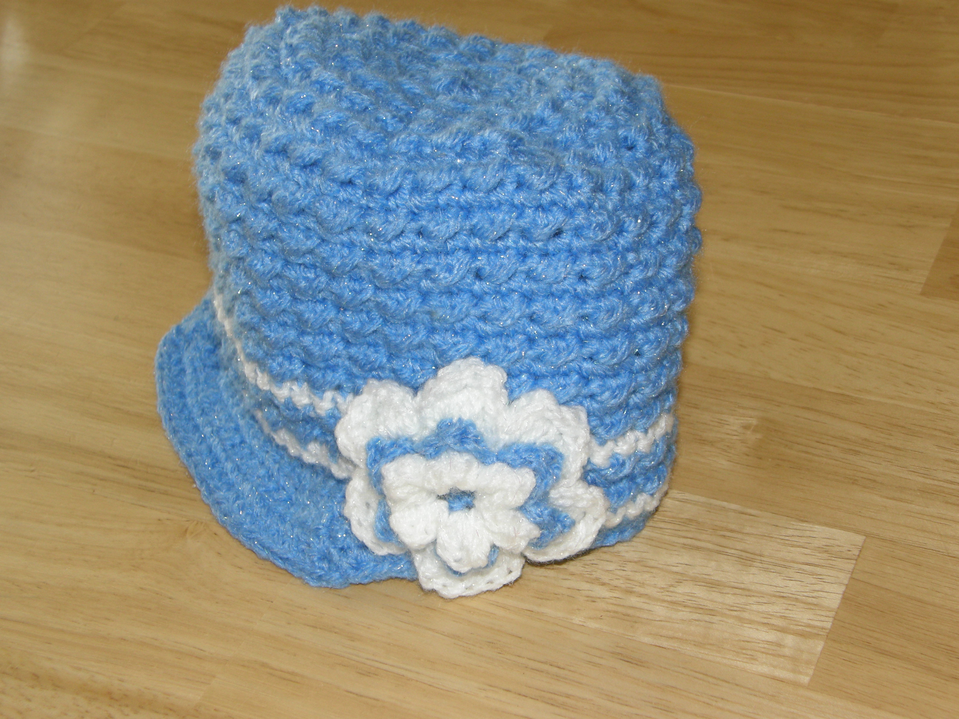 821b0095 Stay@HomeStitchings | Custom Order-Striped Textured Newsboy Hat with ...