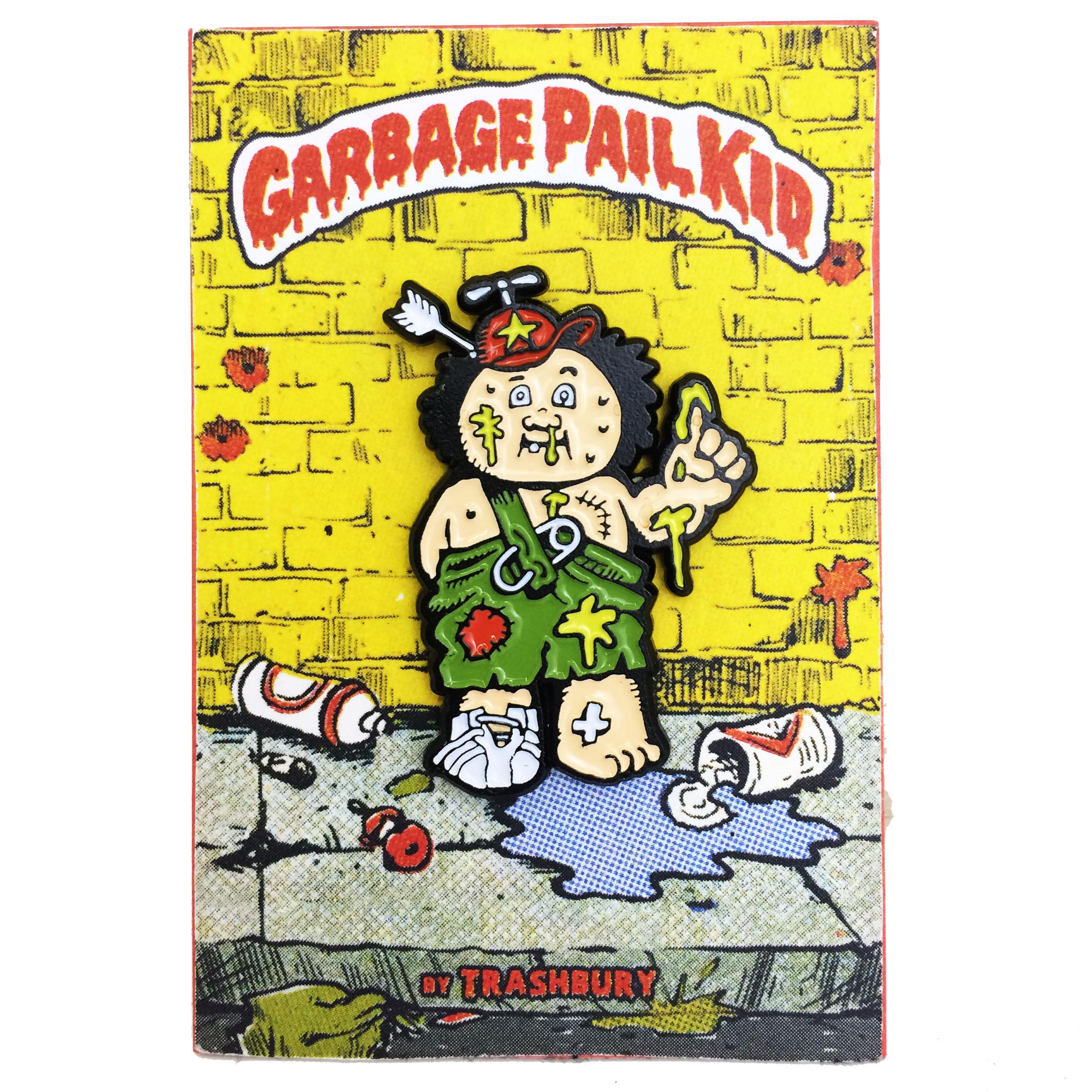 Garbage Pail Kid Pin On Storenvy