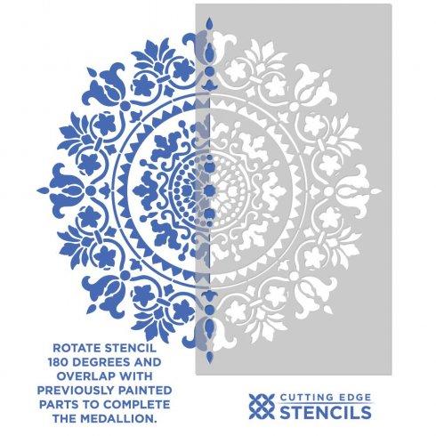 mandala stencil gratitude mandala stencil for a quick and
