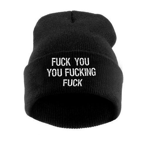 16d1ea61 Shameless 20 20fuck 20you 20you 20fucking 20fuch 20beanie original