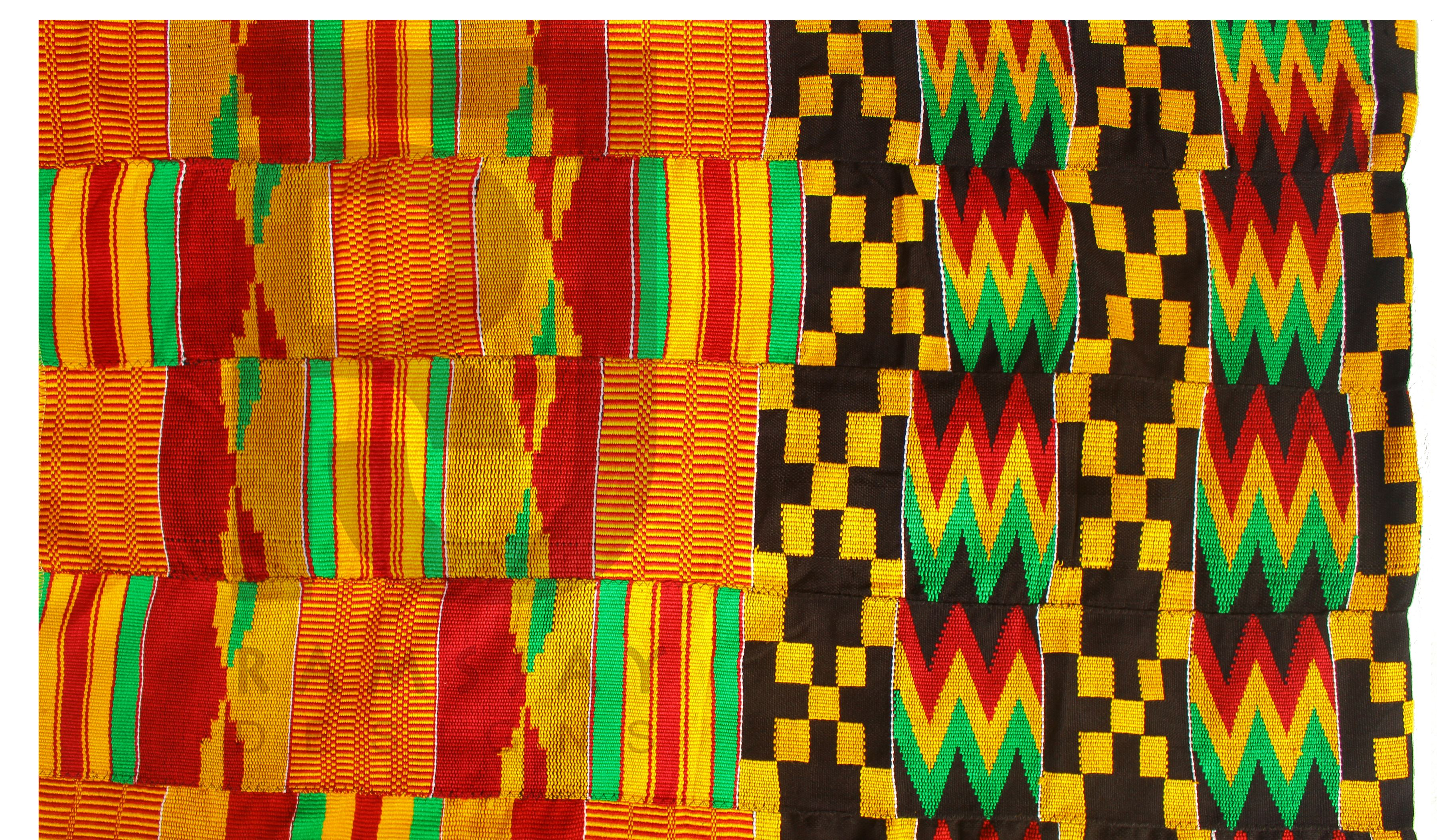 Kente Handwoven Cloth/Kente/Ashanti Kente/African fabric/Ghana Kente/6  yards from Ramsjay Designs