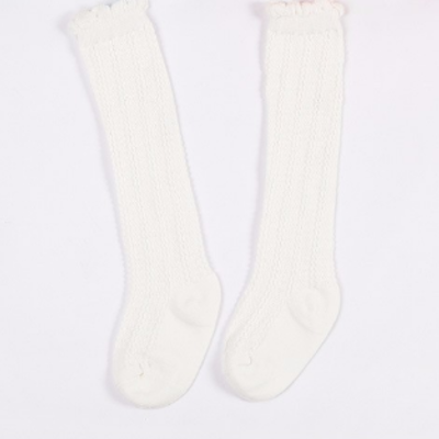 30e9b126d Baby Toddler Mustard Yellow Knee High Socks · Blush + Willow