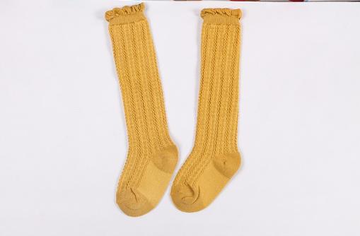 89f28d514 Baby Toddler Mustard Yellow Knee High Socks - Thumbnail 1 ...