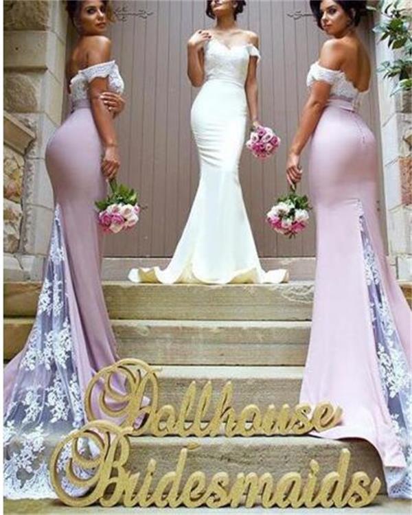 3401a33219 Elegant Popular Bridesmaid Dress