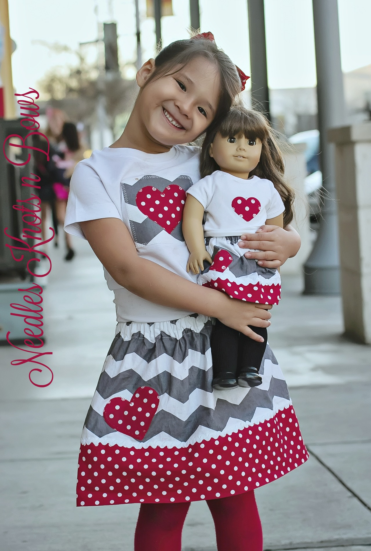 a64a378373e Girls Valentine Outfit