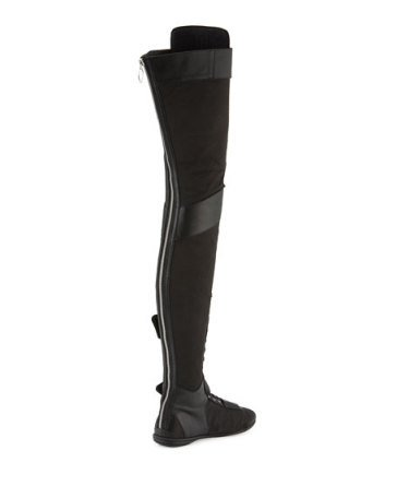 cheap for discount c5dff 58617 Fenty Puma By Rihanna OVER-THE-KNEE ESKIVA (LEATHER) thigh high boots from  TroyKicksShop