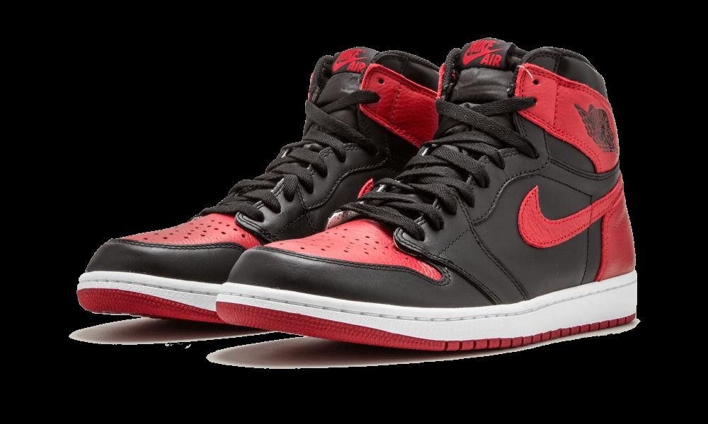 Air Jordan 1 Retro High Og Banned Colorway Black Varsity Red