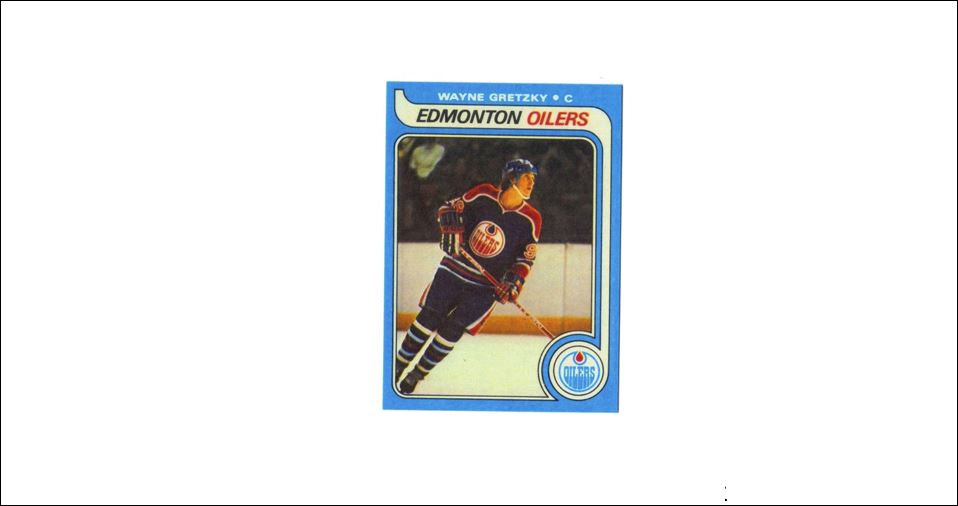 1979 80 Topps 18 Wayne Gretzky Rookie Card Oilers Hockey From Cardboard Coins