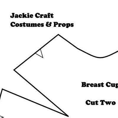 Jaina Proudmoore Inspired Breastplate Pattern Jackie Craft