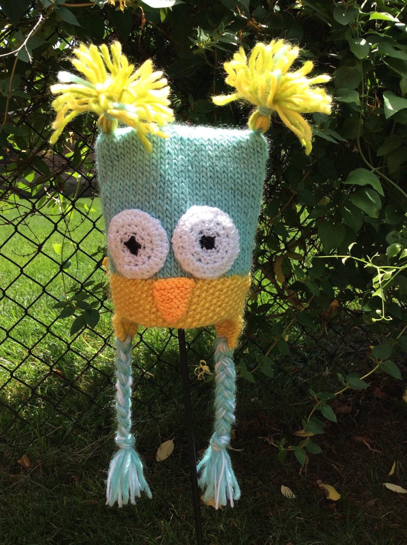 Newborn owl hat toddler owl hat Owl Hat knit Owl hat earflap hat ... 56e81f66c59