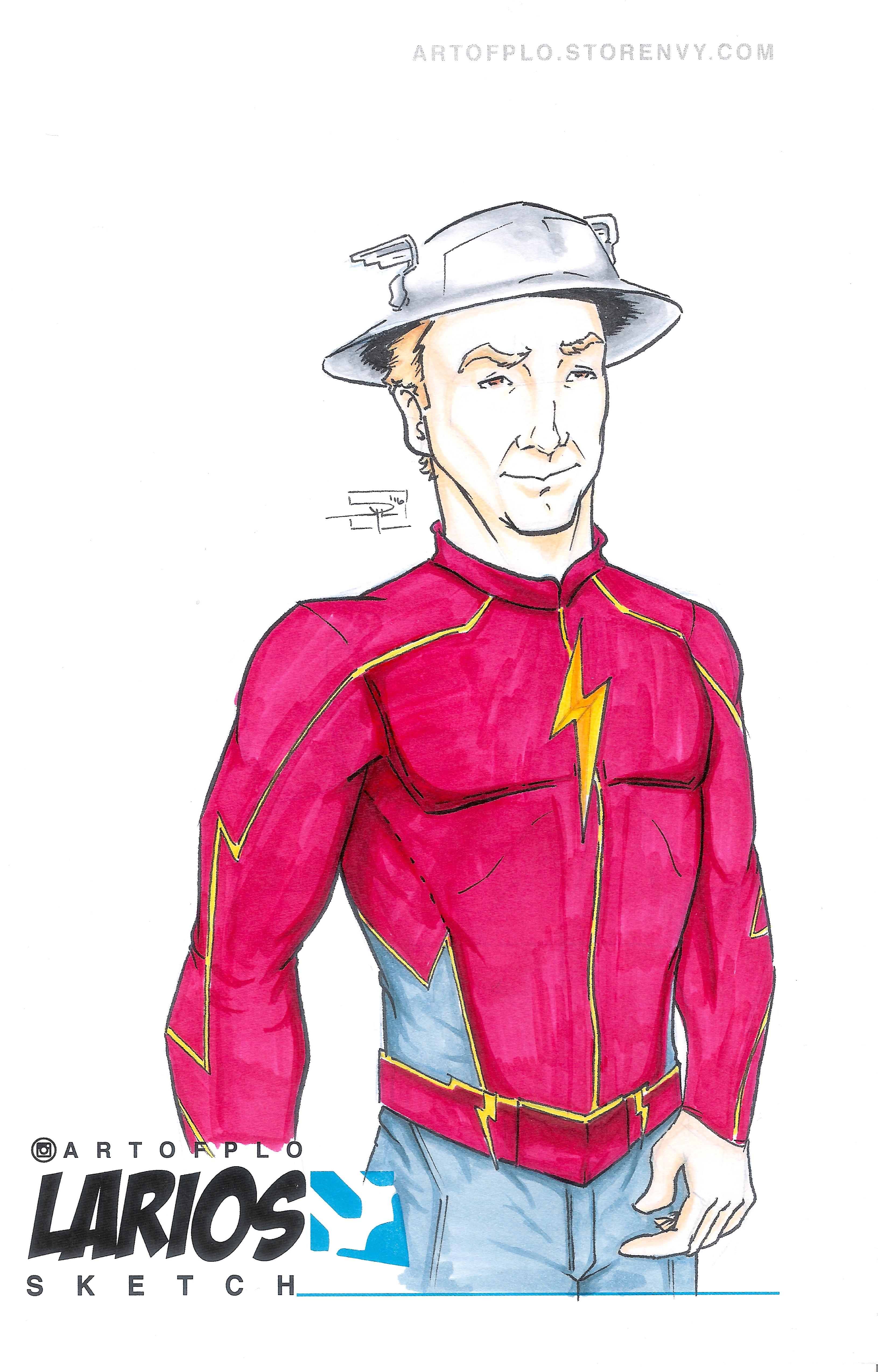 Jay Garrickthe Flash Artofplo Online Store Powered By Storenvy