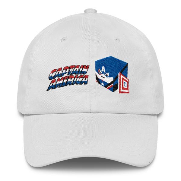 c24d9554cf4 Captain America Dad Cap · TKV Comic Apparel · Online Store Powered ...