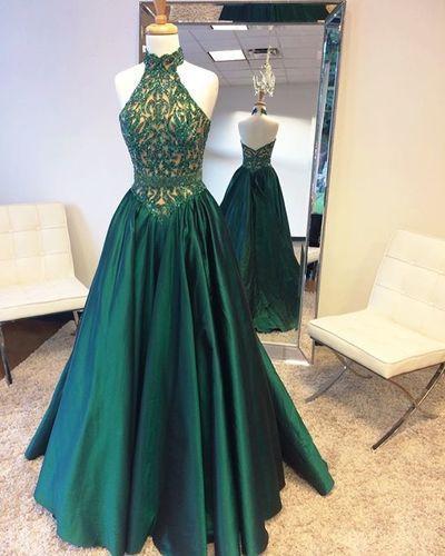 3f062f6d8df4 Halter Prom Dresses