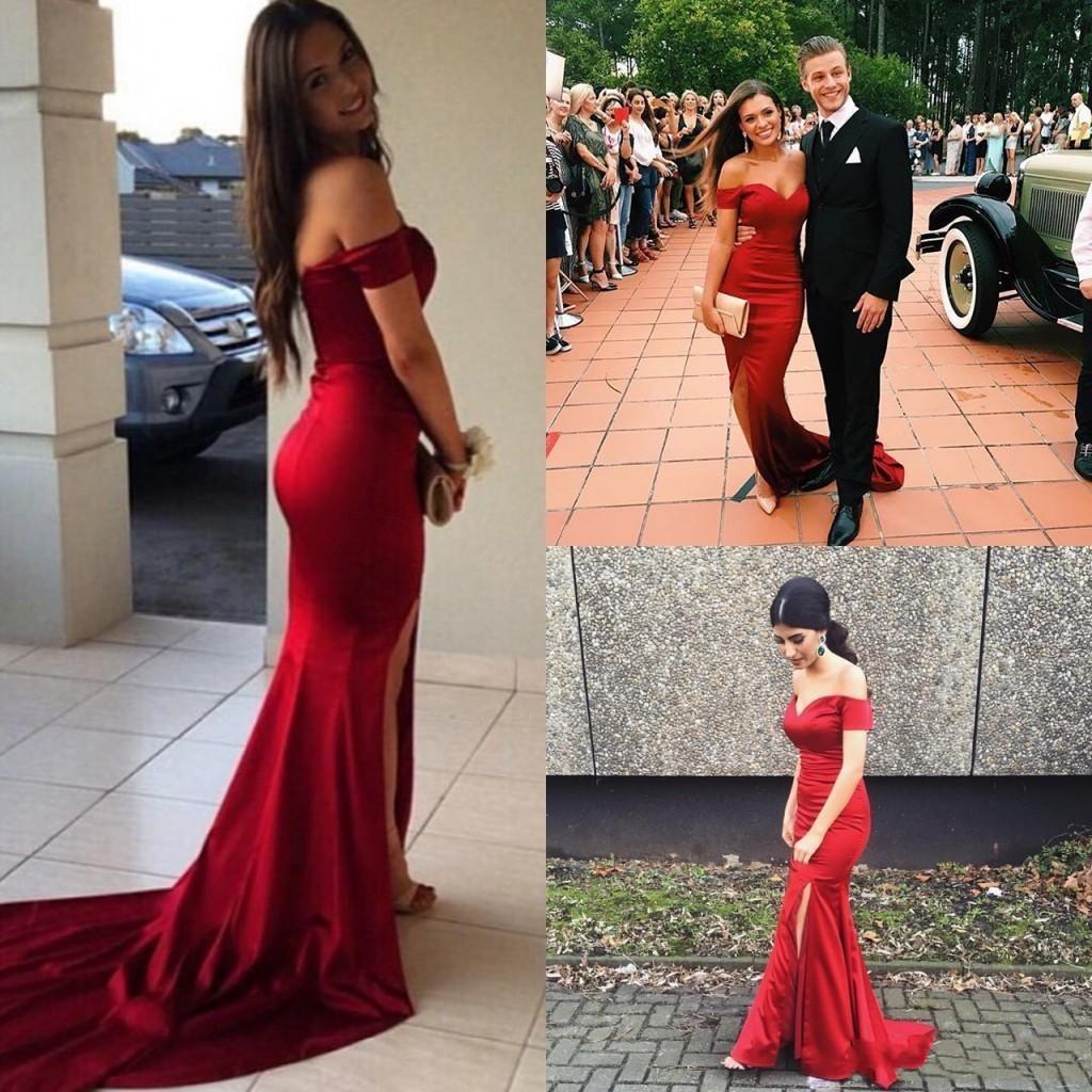 9dbeb73f57c Red Prom Dress