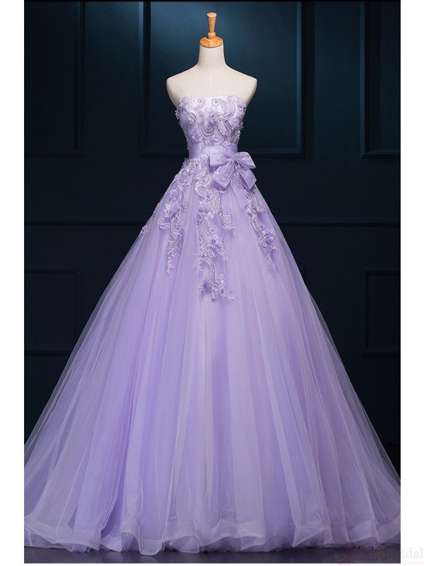 Newest Lavender Ball Gown Prom Dresses,Quinceanera Dresses on Storenvy