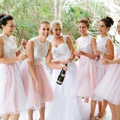 4a1c29ab141 F57 lace bridesmaid dresses