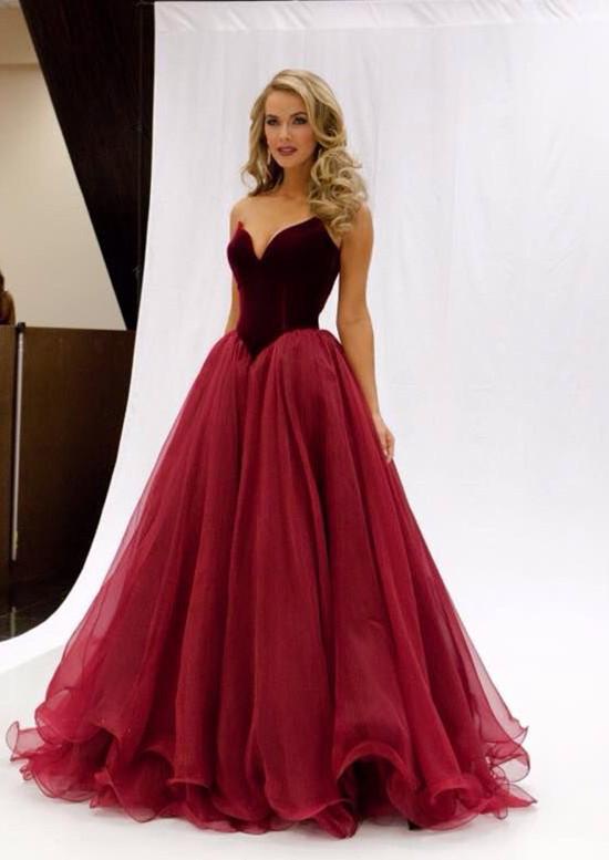 977fdad8c8dc Mermaid Organza Prom Dress
