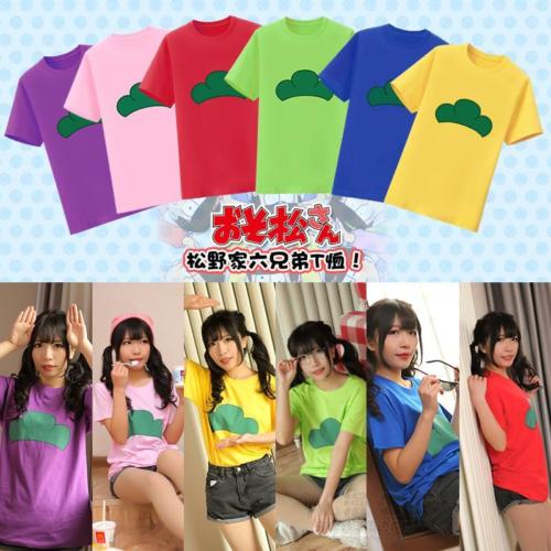 Japan Anime Osomatsu San T Shirts Tops Couples Unisex Cosplay New 6