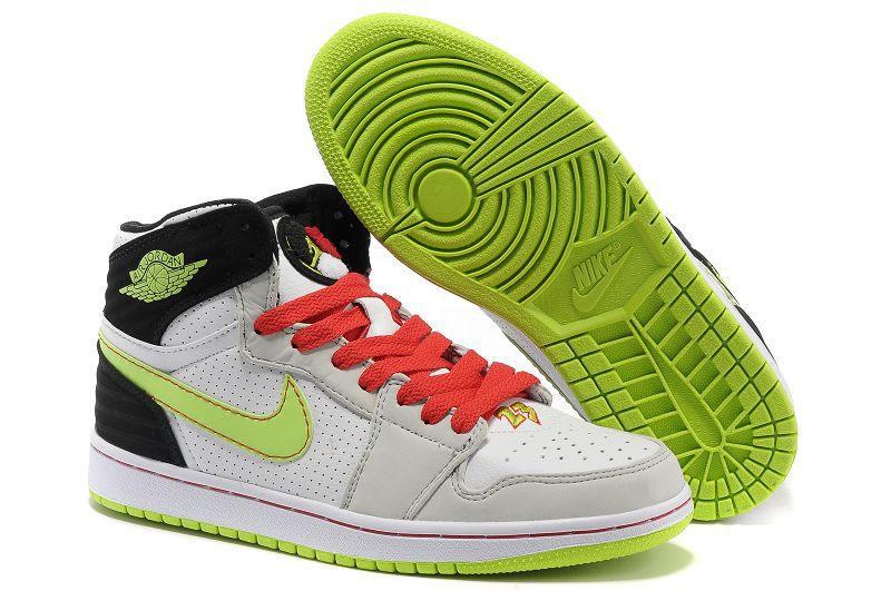 84ba580c0e Nike Air Jordan 1 Mens 93 White Green Black Red · Sneakeronline ...