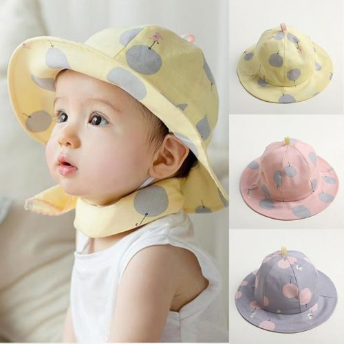 Reliable Baby Girls Boys Kids Children Outdoor Cotton Bucket Hat Summer Beach Sun Cap Online Shop Boys' Baby Clothing Mother & Kids