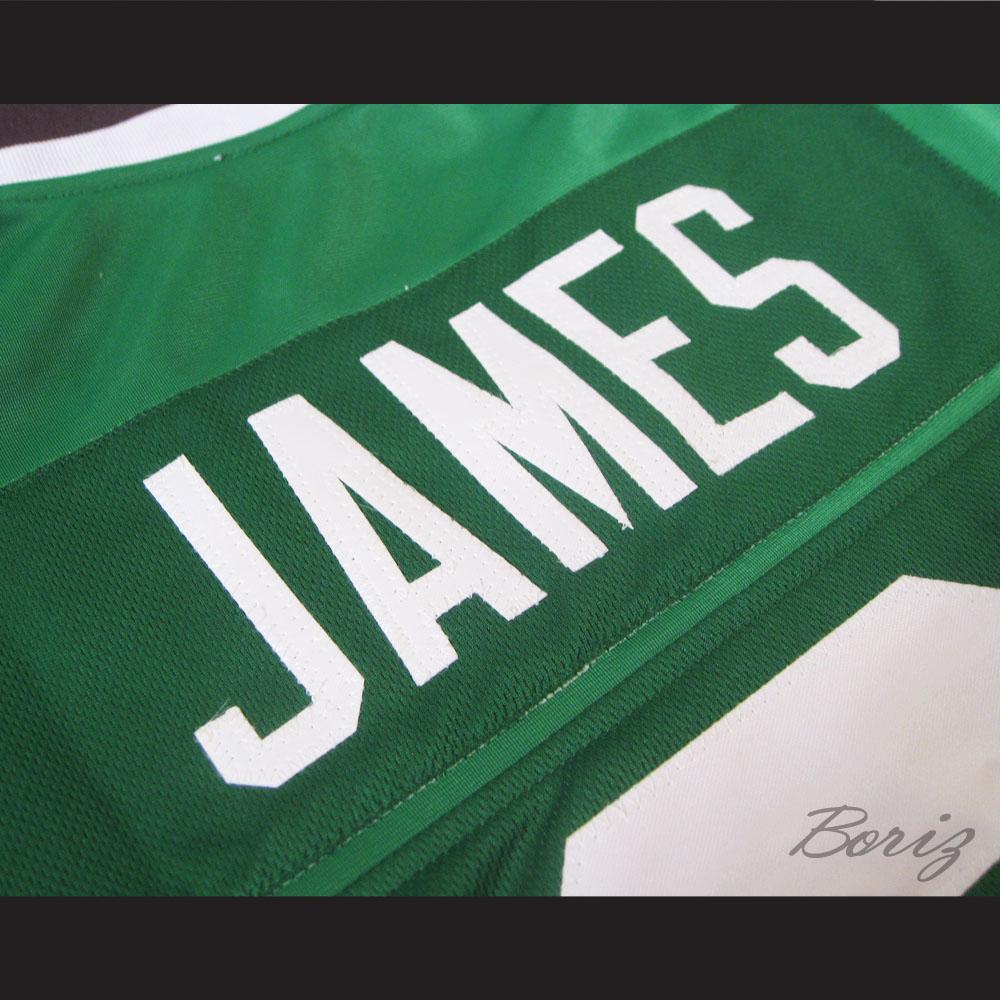 f770d0e06 ... Lebron James 9 High School Football Jersey Irish New Any Size Stitch  Sewn - Thumbnail 4