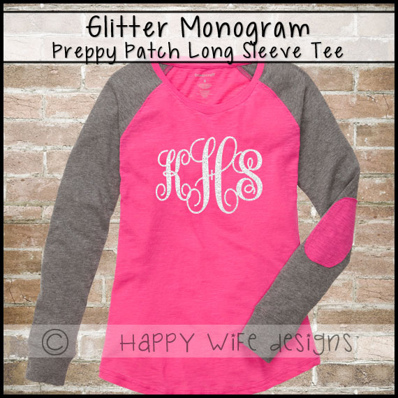 1266e7b9 Monogram Shirt, Glitter Monogram Baseball Tee, Preppy Patch Tee, Baseball  Shirt, Preppy