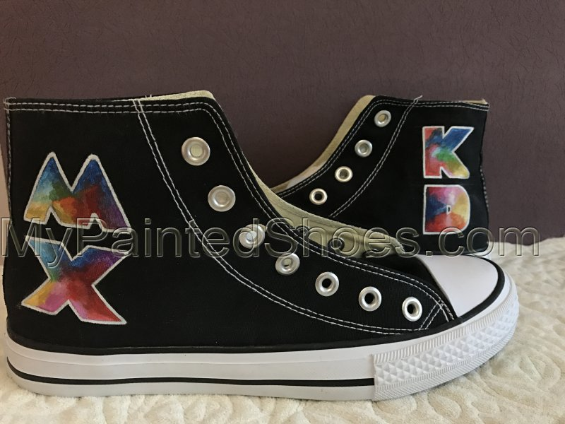 958b82d0ef7 Custom Converse Coldplay Mylo Xyloto Design Painted Shoes on Storenvy