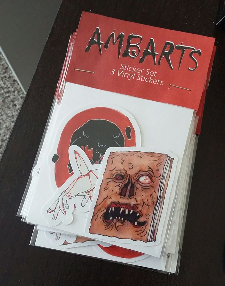 Horror Sticker Pack · AMBARTS · Online Store Powered by Storenvy