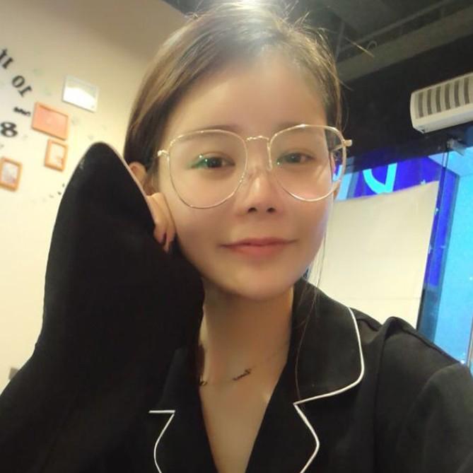 9629833b4ab Emo Retro Great Circle Eyeglass Korean Trendy Glasses DC222 - Thumbnail 1  ...