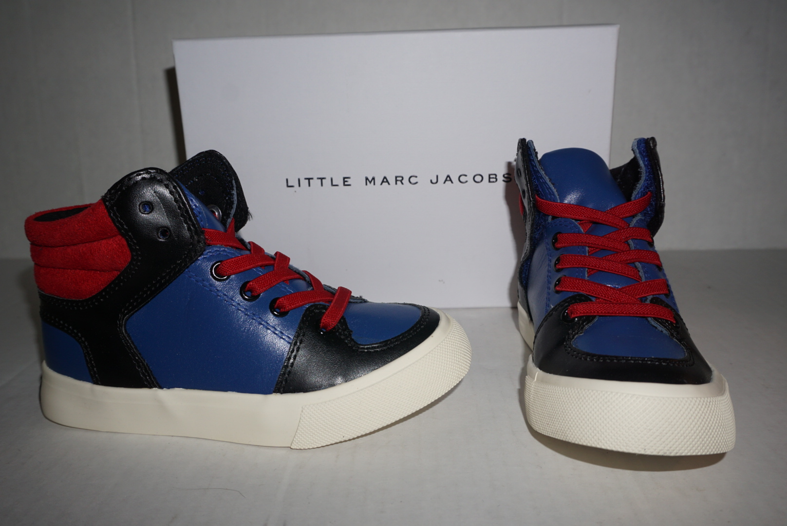 f2a6e5185fb06 Little Marc Jacobs  Red   Blue Sneakers from Stush Fashionista
